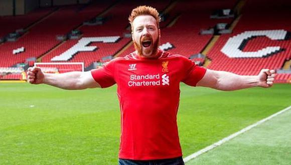 Las emotivas palabras de Sheamus tras el primer título del Liverpool en la Premier League. (WWE)