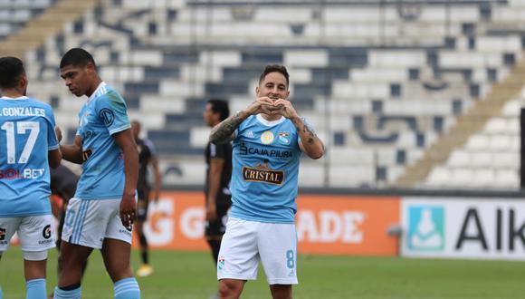 Alejandro Hohberg lleva ocho goles en la Liga 1 con Sporting Cristal. (Foto: Liga de Fútbol Profesional)