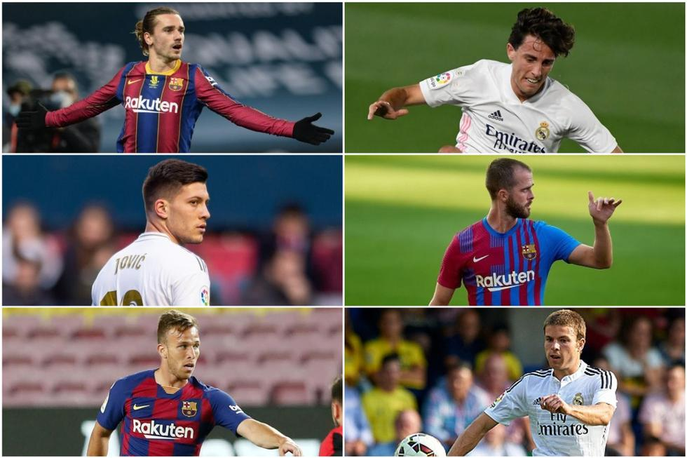Los peores negocios del Real Madrid y Barcelona en los últimos mercados de fichajes.