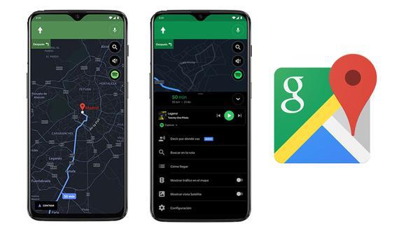 ¿Quieres saber como activar el modo oscuro de Google Maps en iOS? entonces sigue estos 3 pasos (Foto: Google / Mag)