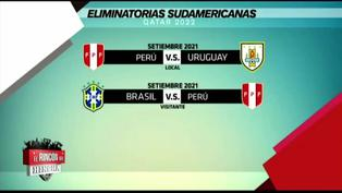 Selección peruana: Conoce el calendario de los próximos duelos en eliminatorias