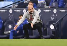 Dura caída: Pep Guardiola perdió su primera final como entrenador del Manchester City