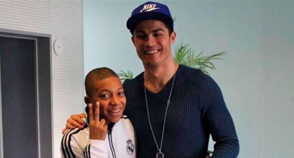 Cristiano Ronaldo y Kylian Mbappé se han enfrentado a nivel de clubes. (Foto: Marca)