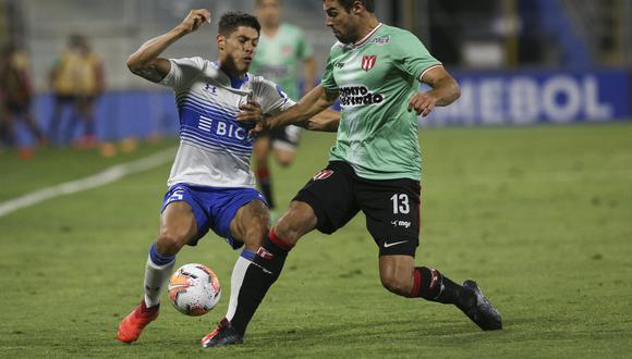 Universidad Católica perdió ante River Plate de Uruguay, pero terminó avanzando en la Copa Sudamericana. (Claudio Reyes)