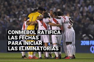 FIFA y CONMEBOL ratifican que el 8 de octubre inician las Eliminatorias Sudamericanas