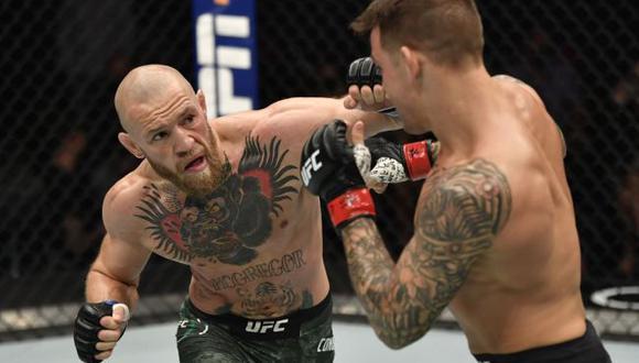 Conor McGregor vs. Dustin Poirier, cerca de concretarse la trilogía para el UFC 264. (Sportsfile)