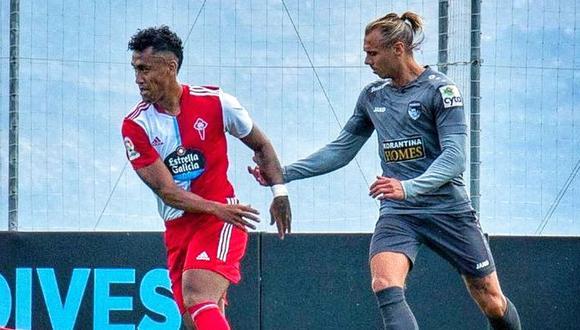 Tapia volvió a jugar con Celta de Vigo tras superar una lesión. (Foto: Agencias)