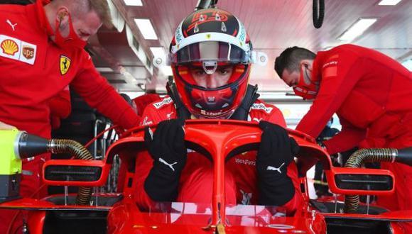 Ferrari presentó el coche de Carlos Sainz Jr y Charles Leclerc para la temporada 2021 de la F1. (Colombo Images)