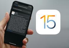 Cómo descargar e instalar iOS 15 en tu iPhone: pasos