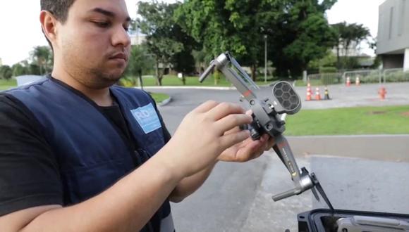Río de Janeiro utilizará drones para la vigilancia de la cuarentena por coronavirus. (Foto: Infobae)