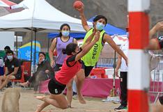 Vuelve la actividad: torneo de Beach Handball inició con éxito en el Complejo Panamericano