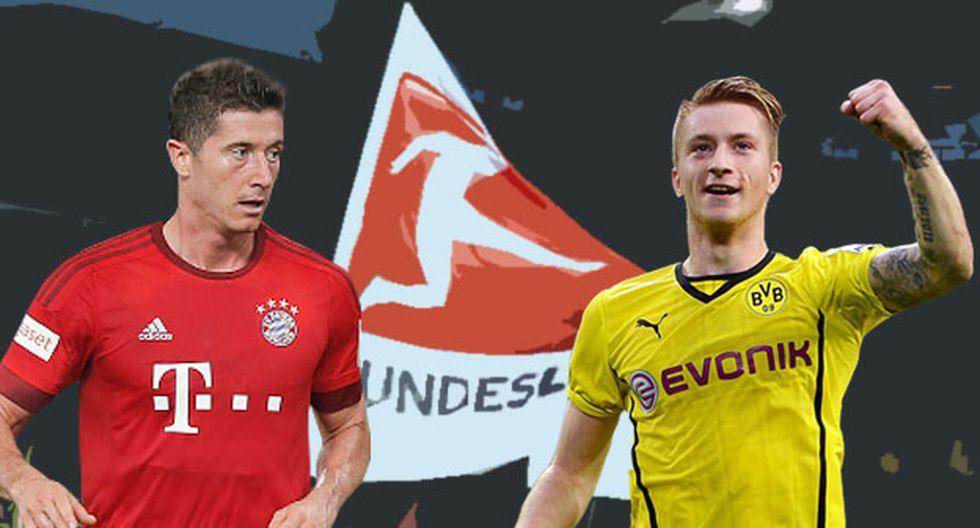 Bayern Munich es el actual campeón de la Bundesliga.