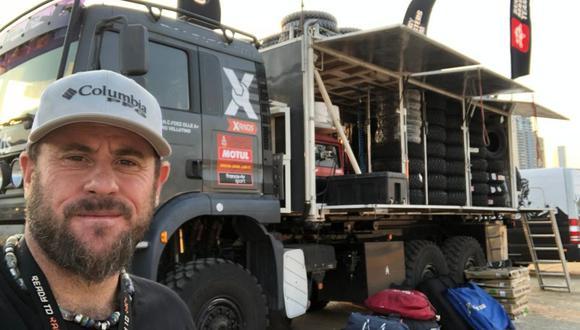 Piero Vellutino apoya a los competidores del team Experience Raids. (Foto: Difusión)