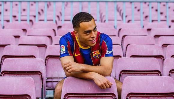 Sergiño Dest confiesa su ambicioso objetivo con Barcelona