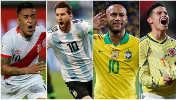 Eliminatorias Qatar 2022: sigue la programación y fixture de los partidos de la fecha doble en Sudamérica. (Agencias)