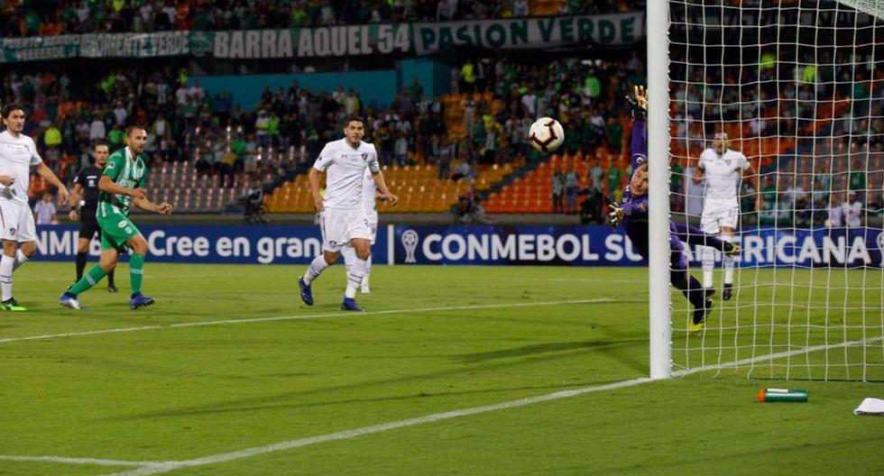 ¡Por la hazaña! Atlético Nacional vs Fluminense EN VIVO: definen vía DIRECTV Sports pase a octavos Copa Sudamericana (Twitter)