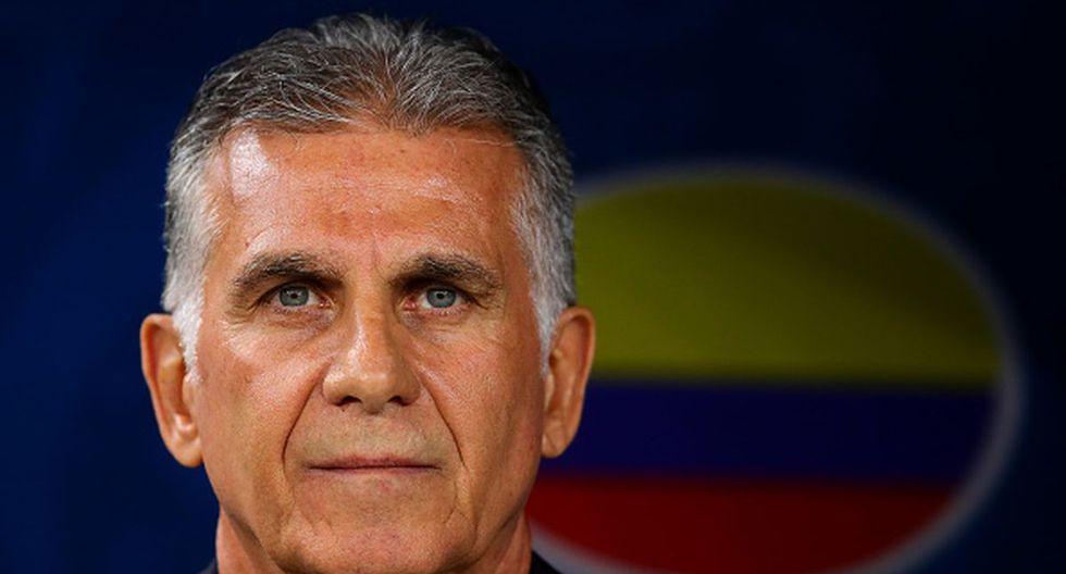 Carlos Queiroz dirige actualmente a la selección de Colombia. (Foto: Getty Images)