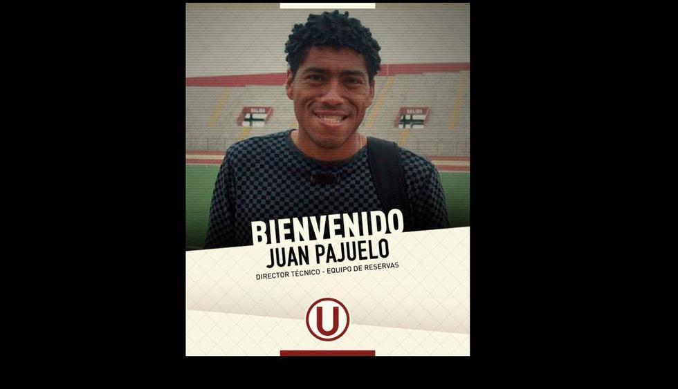 Universitario de Deportes eligió a Juan Pajuelo como técnico del equipo de reservas