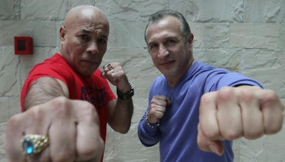 La pelea entre 'Romerito' y Mancini es considera como una de las mejores de la historia del boxeo internacional.