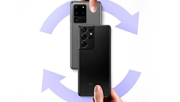 Conoce todos los pasos para poder acceder a Trade in de Samsung. (Foto: Samsung)