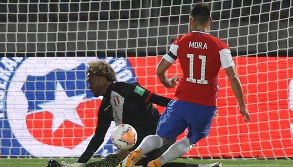 El análisis de Pedro Gallese tras la derrota de Perú ante Chile en Eliminatorias. (Foto: FPF)