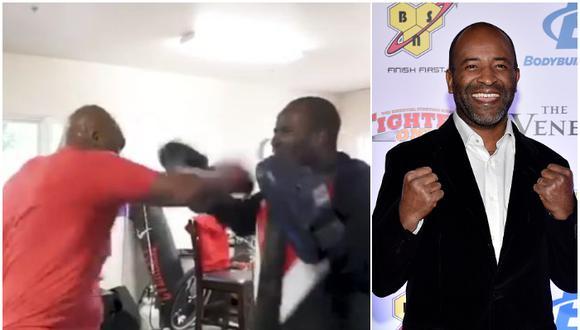 """Entrenador de Mike Tyson luego de sostenerle las manoplas: """"Vi pasar toda mi vida frente a mí"""". (Captura/Getty)"""