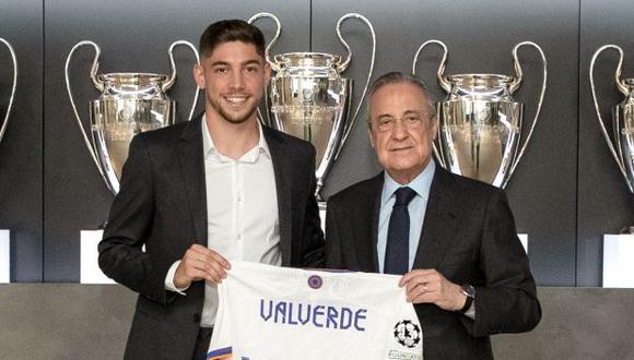 Federico Valverde jugará en Real Madrid hasta mediados del 2027 (Foto: Real Madrid).