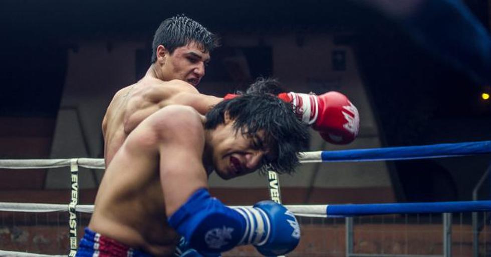 Joaquín Fernández derrotó a Luis Melchor en la primera edición del Evolution Combat. (Foto: Rolando Aquije)