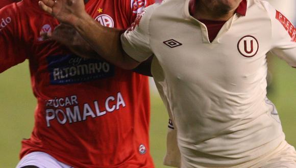 Carlos Olascuaga jugó del 2012 al 2014 en Universitario de Deportes y logró el título del 2013 con la crema. (USI)