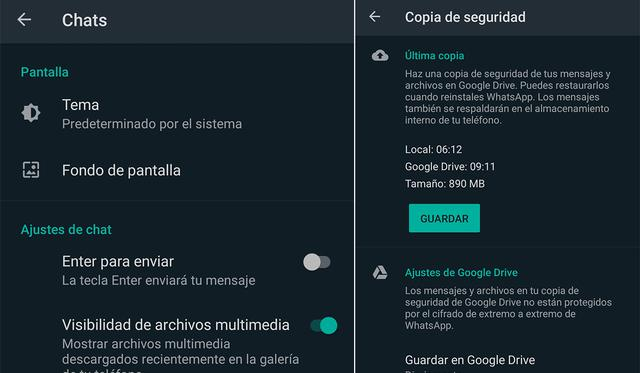 To recover all deleted messages on WhatsApp, you will need to restore the backup.  (Photo: MAG)