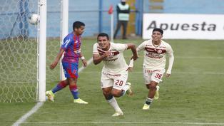 Alex Valera destaca con 'Hat trick' en goleada de la 'U' sobre Alianza Universidad