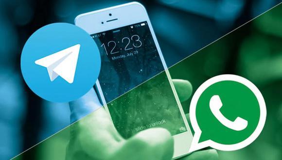 Así puedes saber si tus contactos de WhatsApp están en Telegram fácilmente. (Foto: Composición)