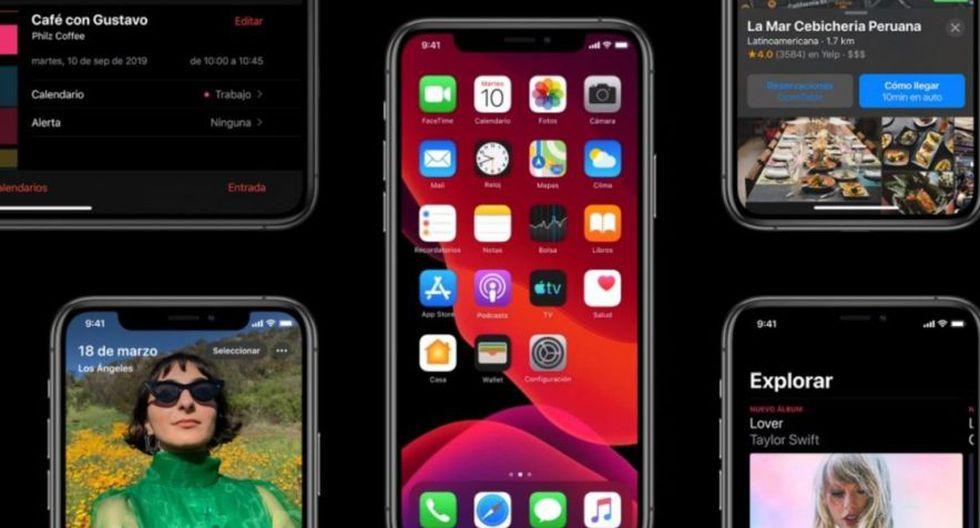 iOS 13 de Apple ya está disponible (T13)