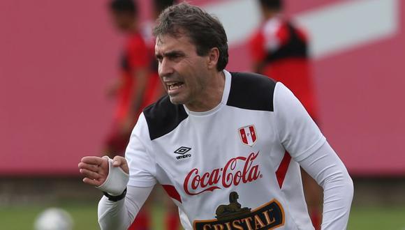 Néstor Bonillo dio positivo al COVID-19, por lo que no viajará a Brasil. (Foto: Selección Peruana)
