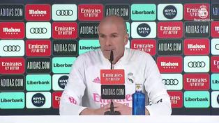 """Zidane: """"Ni antes estábamos tan mal, ni ahora somos los mejores"""""""