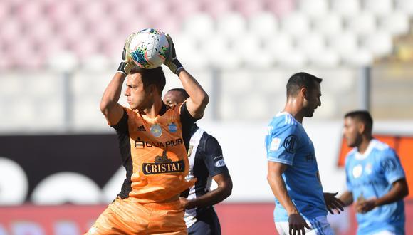 Alejandro Duarte registra cinco partidos y 450 minutos en la Copa Libertadores (Foto: Liga 1)