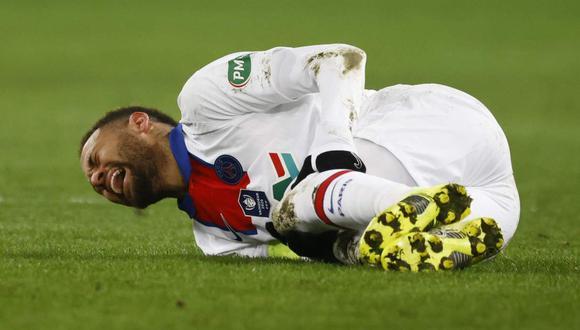 Neymar se perderá el partido entre Barcelona y PSG de la Champions League. (Foto: Reuters)