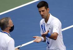 Djokovic y los detalles del diálogo con el supervisor del partido tras su descalificación
