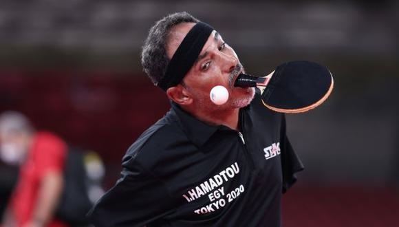 Conoce al paradeportista sin brazos que no cree en límites y juega tenis de mesas con la boca en los Juegos Paralímpicos. (Tokio 2020)