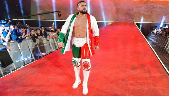 Andrade fue liberado de WWE luego de pedir su salida. (WWE)