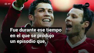 Ryan Giggs y la fuerte pelea que tuvo con Cristiano Ronaldo en el Manchester United