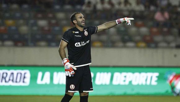 José Carvallo fue campeón con Universitario de Deportes, en 2013. (Foto: GEC)
