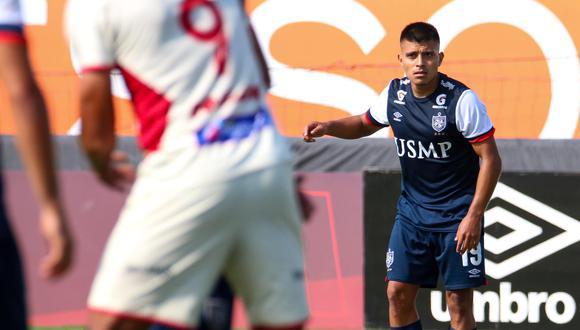 José Inga jugó en San Martín todos los partidos de la Fase 1. (Foto: USMP)