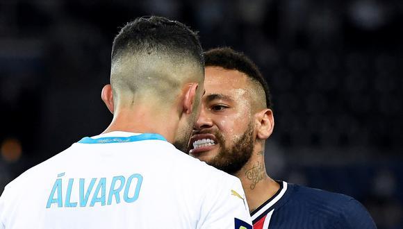 Álvaro González fue importante para el triunfo 1-0 de Marsella sobre PSG en el Parque de los príncipes, donde anuló en varios duelos personales a Neymar. (Foto: AFP)
