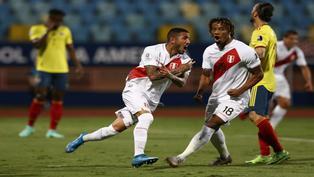 Selección de fútbol de Perú: Sergio Peña rompió en llanto tras victoria sobre Colombia