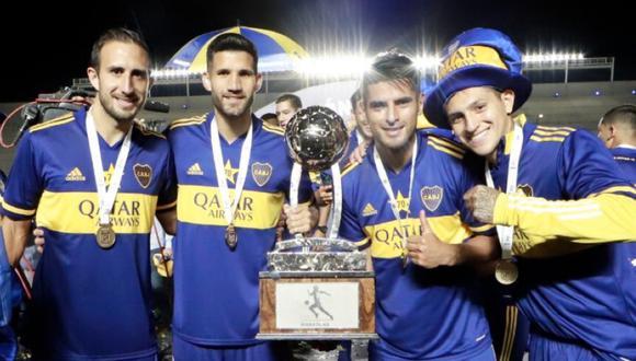 Carlos Zambrano es el sexto peruano que sale campeón con Boca Juniors. (Foto: @5zambranocz)