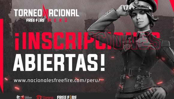 Free Fire: el Torneo Nacional abre inscripciones . (Foto: LVP)