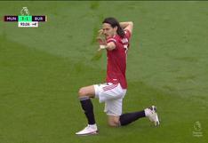 Gol de Cavani, no importa cuándo leas esto: sentenció el 3-1 de Manchester United vs. Burnley [VIDEO]