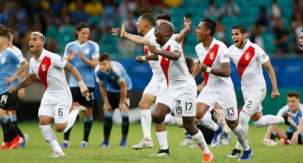 Perú venció a Uruguay en una vibrante definición desde el punto de penal por la Copa América. (Foto: Getty Images)