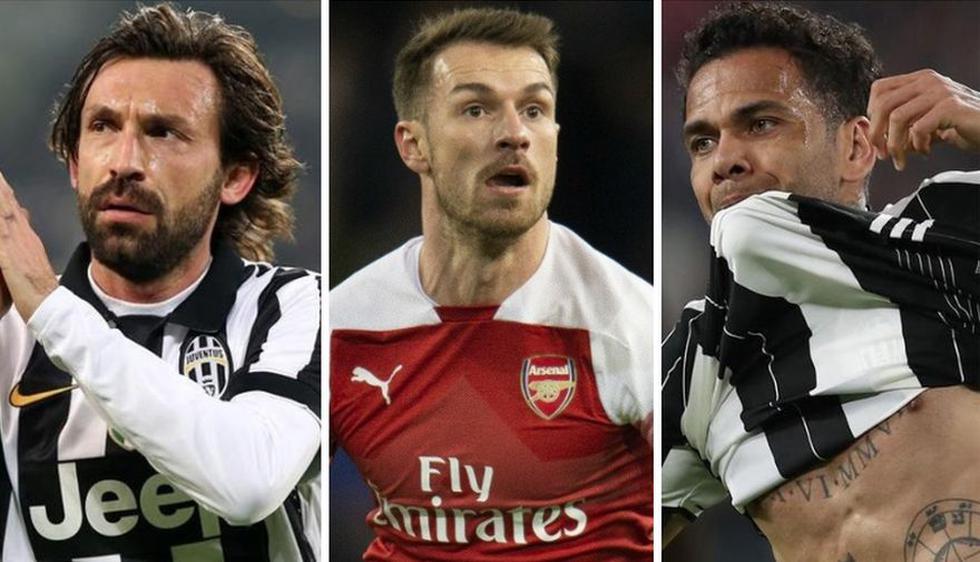 Los cracks que llegaron gratis a la Juventus en la última década. (Fotos: agencias)